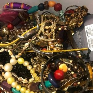 Vintage Jewelry - Over 4.5 lbs of vintage jewelry artisian costume